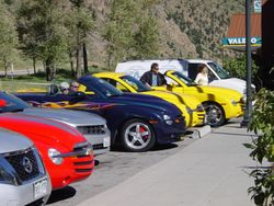 Chevy SSR Club at G-Town Visitors' Center
