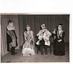 Newells school play Autumn 1958