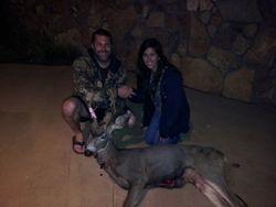 Great first muzzleloader deer Domo!!!!!!