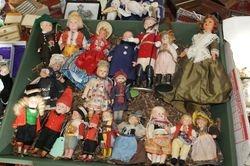 Lots of dolls