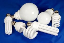 Use compact florescent bulbs.