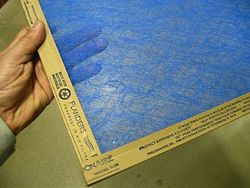 Change furnace filter monthly.