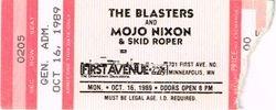 1989 Ticket