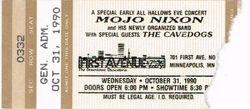 1990 Ticket