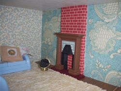 kindly donated fireplace x
