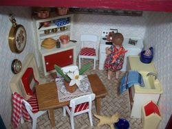 finnished kitchen