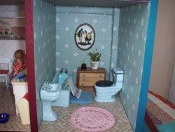 finnished bathroom