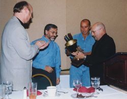 Award Ed Parker to José Garay
