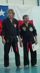 Master larry Tatum & José garay