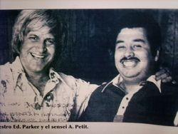 Ed. parker & Arturo Petit