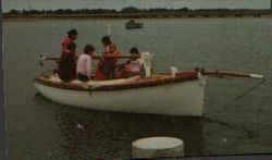 Gilcraft Queenscliff Couta Boat.