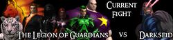 The Legion of Guardians vs. Darkseid