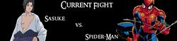 Sasuke vs. Spider-Man