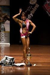 2008 NABBA Australia Overall Champion