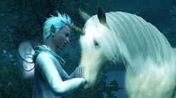 Jack Frost and Unicorn