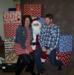 Upset by Santa Claus