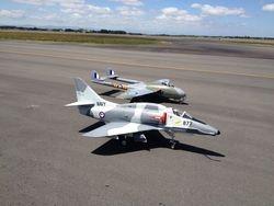 Flying jets a Ohakea