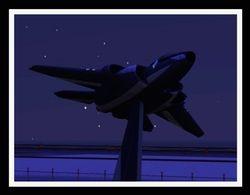 Nighttime Flightline
