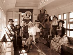 The Group on the Train