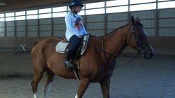 Jojo riding Rio(: