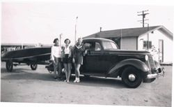 Grandparents first boat