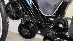 48v900w brushed 2-motor mid bike kit