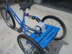 Randall's excellent design  48v800w brushless trike