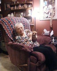 Susie with Mitzi