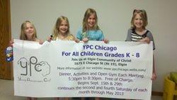 Jayna 6, Grace, 8, Kayla 10, Ciara 12