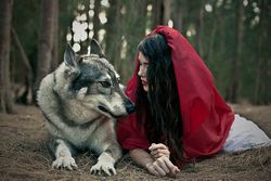 Red and Wolf.