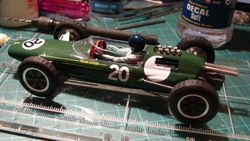 Lotus 25 Clark