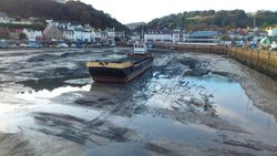 St. Aubin during the dredging