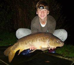 Chris Andrews 15lb 10oz Mirror Carp