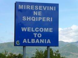 Macedonia - Albania border