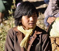 Chin villagers on Mt Victoria