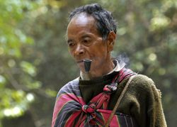 Chin villager