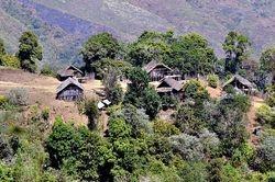 village on Mt Victoria