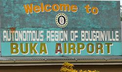 The Autonomous region of Bougainville