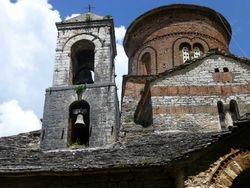 ancient church beyond Girokastra