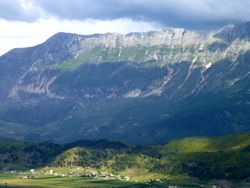 mountains in central Albania