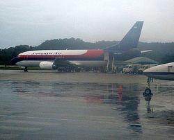 wet arrival at Biak