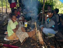 helpers at Camp Jepan