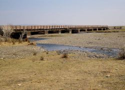 bridge near Ulaan Baator