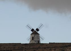 windmill near La Oliva