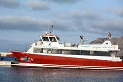 ferry at Isla Graciosa