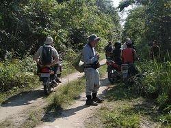 our group on Jalan Korea near Nimbokrang