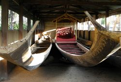 ceremonial boats