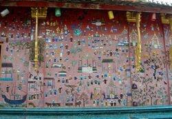 mosaics at Wat Thieng Thong