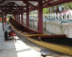 ceremonial boat