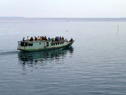 ferry at Sandakan